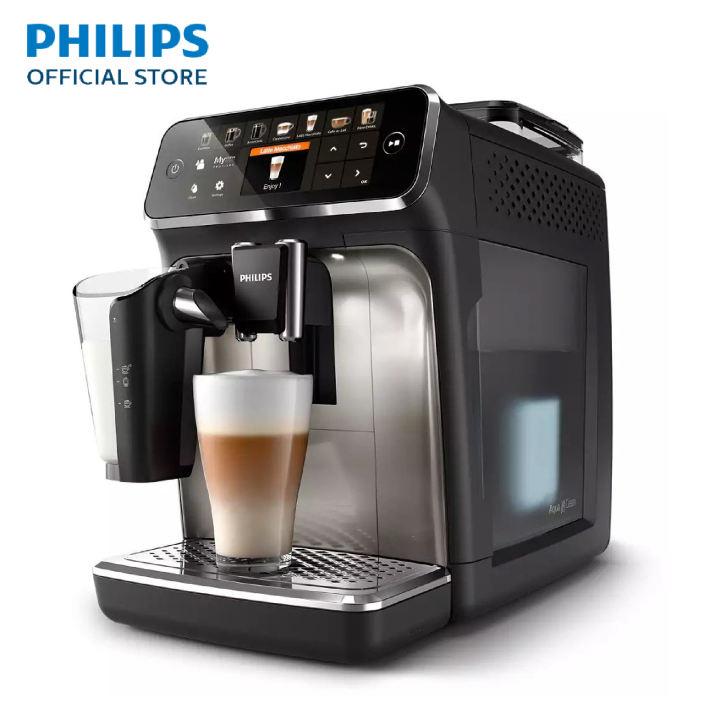 PHILIPS เครื่องชงกาแฟ เอสเปรสโซ่อัตโนมัติเต็มรูปแบบ รุ่น EP5447/90
