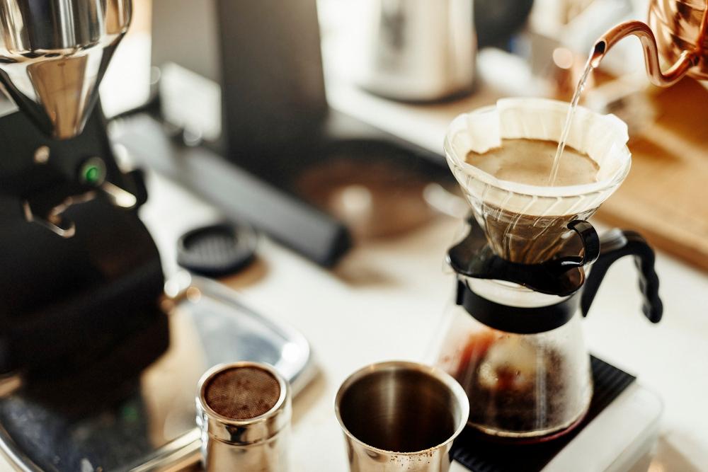 เครื่องชงกาแฟ แบบหยดหรือแบบดริป
