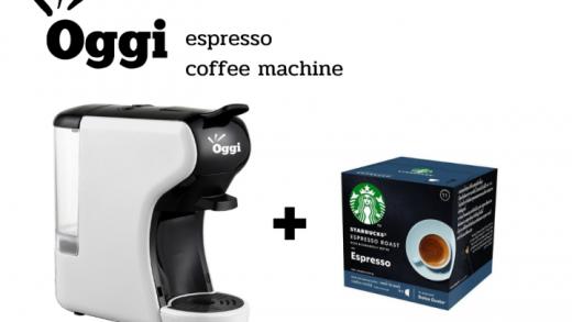 รีวิว เครื่องชงกาแฟแคปซูลอัตโนมัติ Oggi รุ่น MC2 น่าซื้อ
